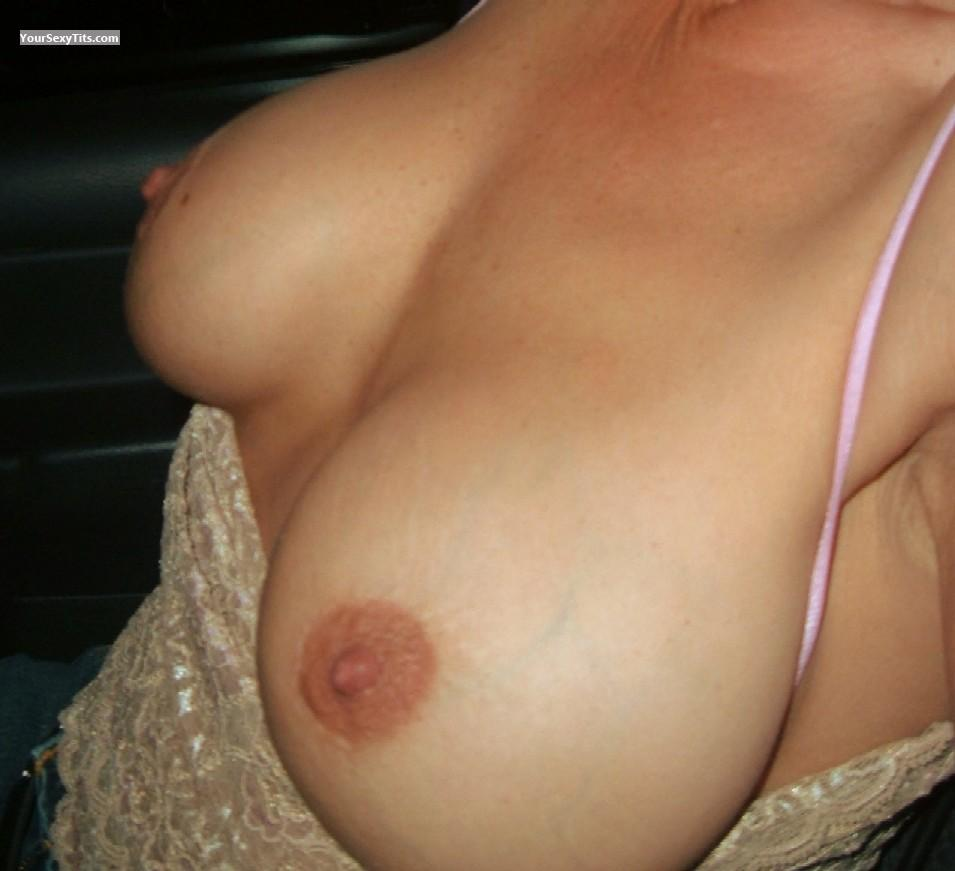 Tit Flash: My Big Tits (Selfie) - Lisa38ds from United States